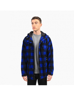 PENFIELD KASSON BUFFALO PLAID JACKET BLUE