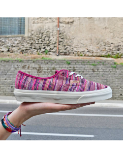 VANS AUTHENTIC CA ITALIAN WEAVE RHODODENDRON