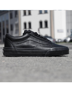 VANS Old Skool DX (Square Perforated) Black/black