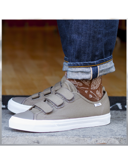 VANS Style 23 V (Canvas) Walnut / True white