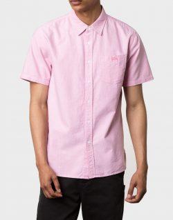 STUSSY – Classic Oxford S/SL (Camicia Rosa)