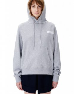 Wood Wood Penelope hoodie (Grey melange) – Romantic