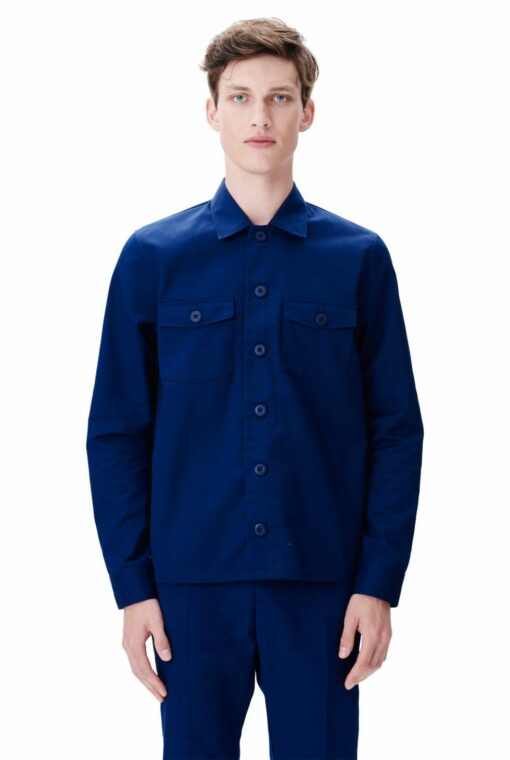 franco shirt blue wood wood