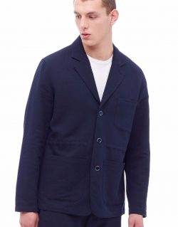 YMC (You Must Create) Almost Linen Blazer (Navy)