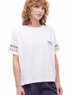 YMC (You Must Create) Mountain Girl Tee (White)