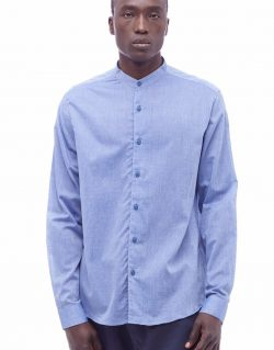 YMC (You Must Create) Bootboy Shirt (Blue)