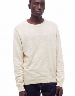 YMC (You Must Create) Bel Air Linen Crew Neck (Ecru)