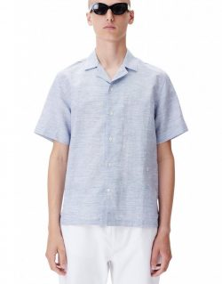 WOOD WOOD BRANDON SHIRT (Navy)