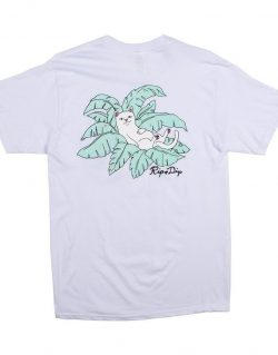 RipNDip LEAF POCKET TEE (White)