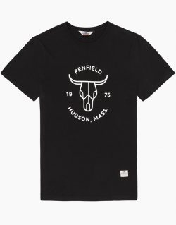 PENFIELD Mens Steer T-shirt (Black)