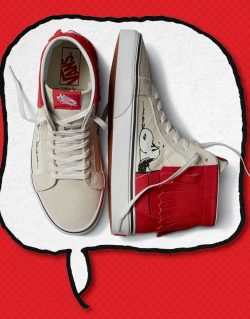 VANS for PEANUTS – SK8 – HI MOC (Dog house / Bone)