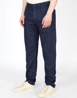Universal Works – Aston Pant In Indigo Summer Denim