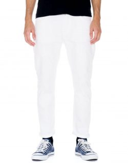 NUDIE JEANS – BRUTE KNUT – PITCH WHITE – MADE IN ITALY