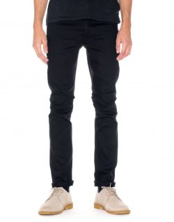 NUDIE JEANS – TILTED TOR – DRY COLD BLACK – MADE IN ITALY
