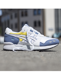 ASICS GEL LYTE OG W (WHITE / BLUE / YELLOW)