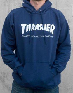 THRASHER – Skate Mag Hood (Blue)