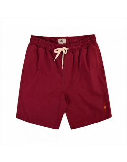 LIGHTNING BOLT – Plain Turtle Boardshort (Ruby Wine)