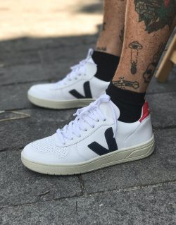 VEJA V10 LEATHER EXTRA WHITE (Nautico Pekin Pierre) M/W – VX021267