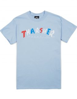 THRASHER & Parra – Knock Off T-shirt (Light Blue)