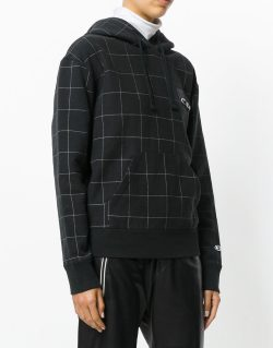 CHAMPION X WOOD WOOD – Checkered sweatshirt (Black)