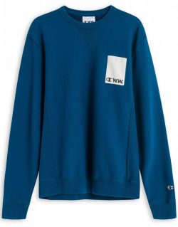 CHAMPION X WOOD WOOD – Crewneck Sweatshirt (Navy)