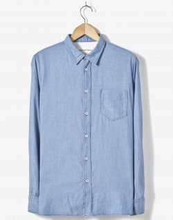 Universal Works – Standard Shirt In Indigo Denim Oxford