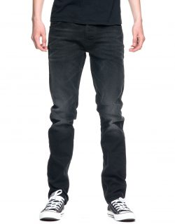 NUDIE JEANS – DUDE DAN – BLACK RIDERS – MADE IN ITALY