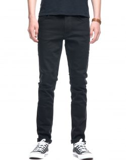 NUDIE JEANS – LEAN DEAN – DRY EVERBLACK – MADE IN ITALY