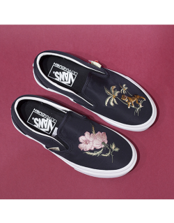 VANS Classic Slip-On (California Souvenir) W – Black