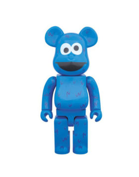Medicom BE@RBRICK 400% SESAME STREET COOKIE MONSTER