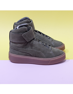PUMA Platform Mid OW (Olive night) Women