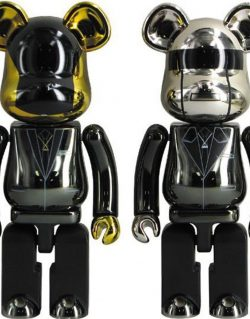 Be@rbrick Daft Punk 200% (14cm) Metal Plated