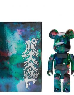 Medicom BE@RBRICK X PUSHEAD BLUE WATER 100% & 400%