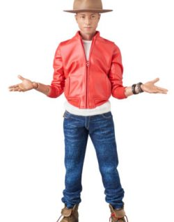 Medicom RAH-755 Real Action Heroes Pharrell Williams i am other Figure