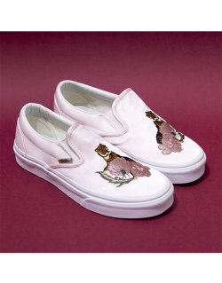 VANS Classic SLIP – ON (California Souvenir) – Rose