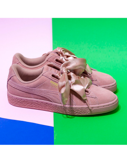 PUMA Suede Heart Satin II Woman (Cameo – brown)