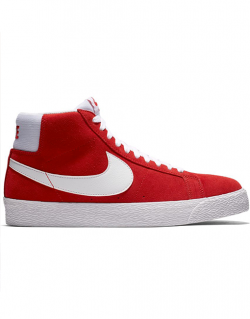 NIKE SB ZOOM BLAZER MID (University Red/ White) – 864349611