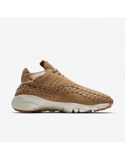 NIKE AIR FOOTSCAPE WOVEN CHUKKA (Flax/Flax – Sail – Gum Med Brown) – 443686205