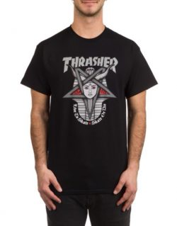 THRASHER Goddess T-Shirt (Black)