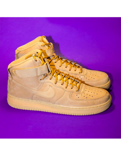 NIKE AIR FORCE 1 HIGH '07 LV8 WB (Flax / Outdoor Green) – 882096200