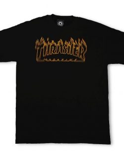 THRASHER Ritcher T-Shirt (Black)