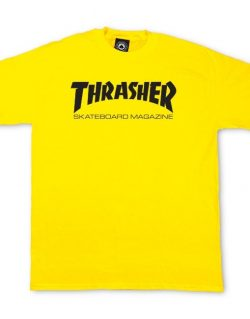 THRASHER – Skate Mag T-shirt (Yellow)