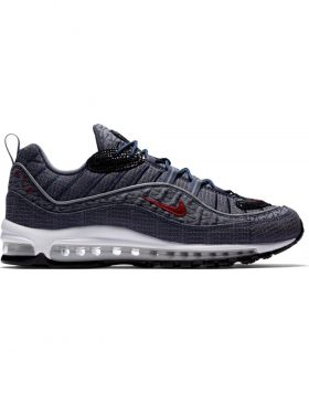 "NIKE AIR MAX 98 ""Quickstrike"" (Thunder blue / Team Red) 924462400"