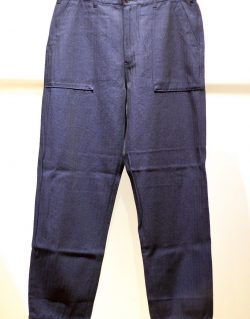 Universal Works – Fatigue Pant Denim Herringbone Indigo