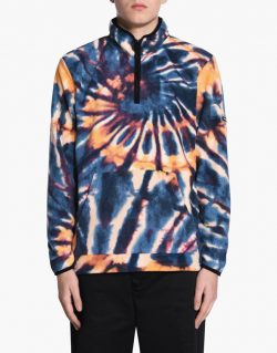 STUSSY Dye Polar Fleece Mock (Multi) / 118258