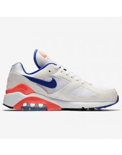 NIKE AIR MAX 180 (White/Ultramarine – Solar Red) 615287100