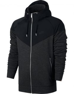 NIKE – Sportswear Windrunner Hoodie 863666-011 (BLACK/BLACK HEATHER/BLACK)