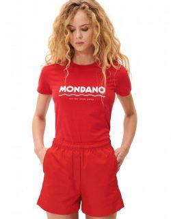 WOOD WOOD – EDEN MONDANO (T-shirt Rossa)