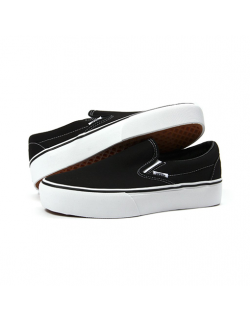 VANS – CLASSIC SLIP-ON PLATFORM (Black)