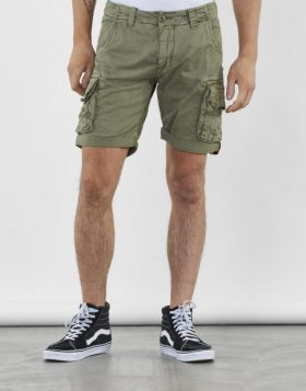 ALPHA INDUSTRIES – CREW SHORT (Pantaloncino Light olive)
